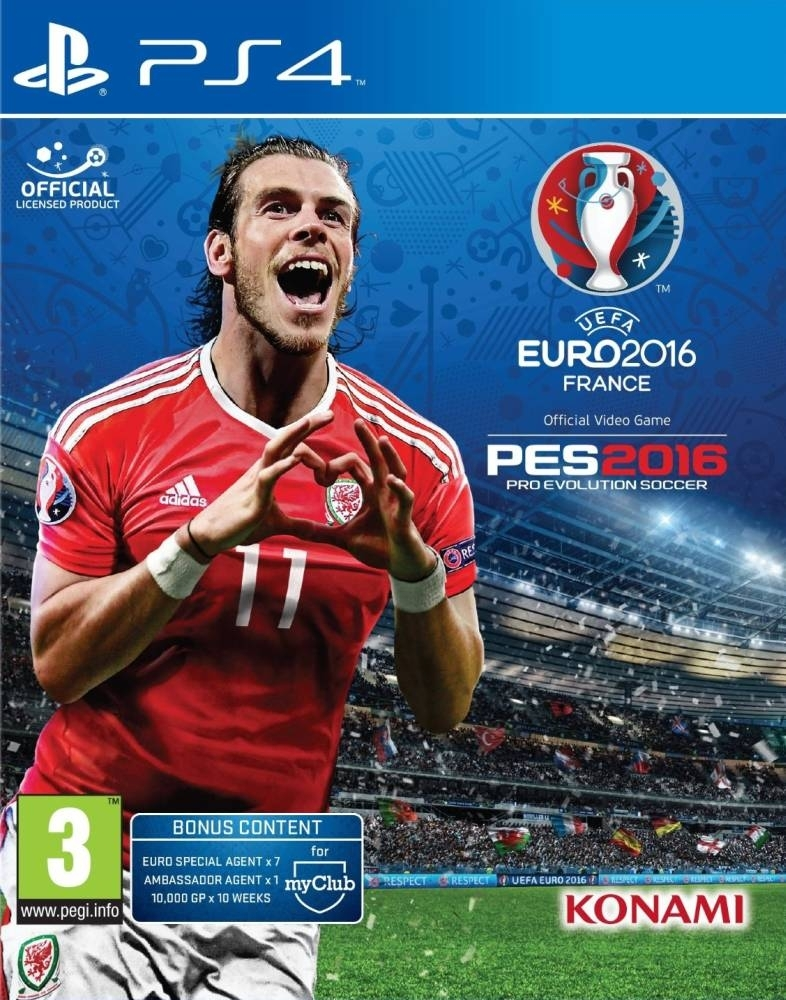 Pro Evolution Soccer 2016: Uefa Euro 2016 / PES 2016 (PS4)